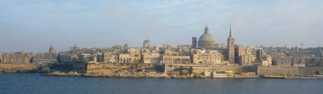 VALLETA - VIEW FROM SLIEMA 2