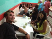 a night out in the favela