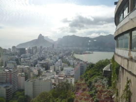 View From boxing gym , Canto Galo Favela