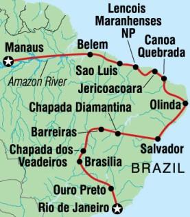 Rio to Manaus