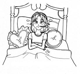 bed sick