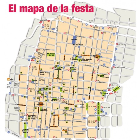 Mapa festa